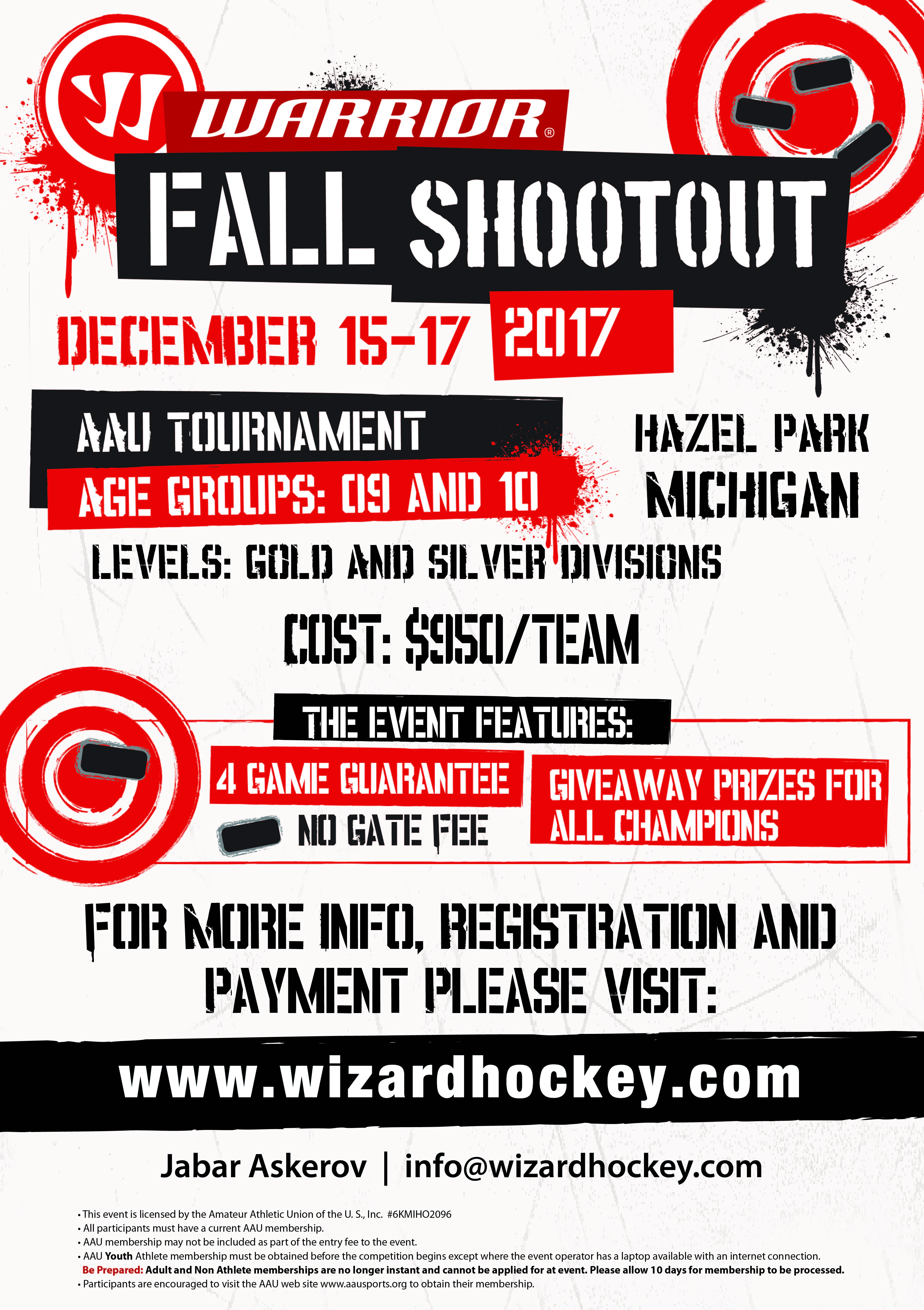 2017-Fall-Shootout-Hazel-Park-flyer- AAU